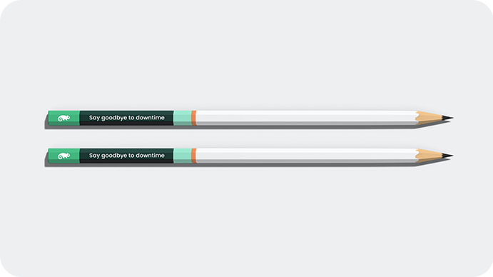 Brand Applications - Pencils